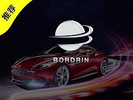 一车一世界 | 博郡汽车logo标志设计