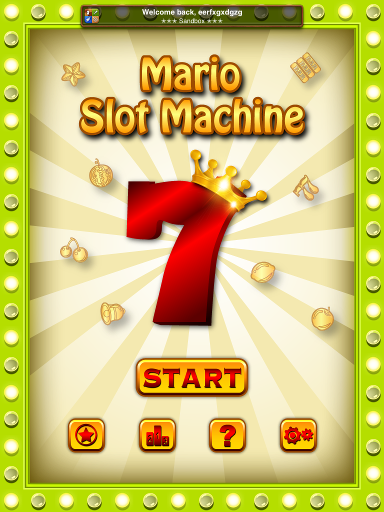 《mario slot machine》app 2012