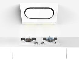 白衣厨电-基于老年人用户研究的烟机和灶具的设计