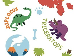 儿童卡通系列局部图