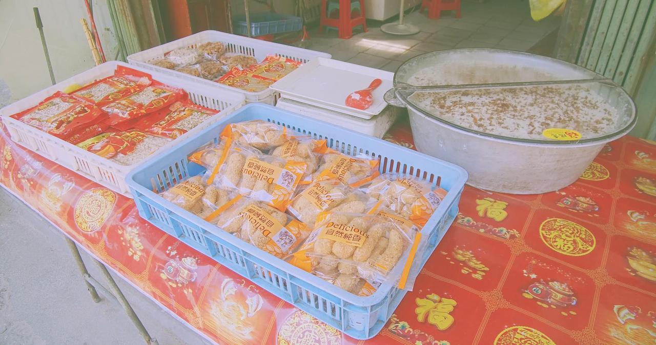 【红安三合石狮古早味福瑞面】永宁意老糕点老街久久美食城隆图片
