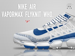 NIKE AIR VAPORMAX FLYKNIT WHO.  Sneaker