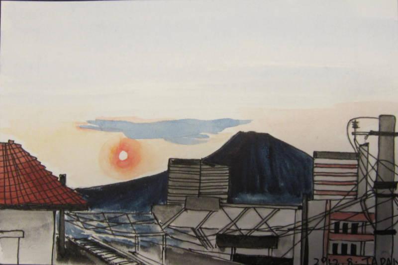 记忆中的日本(手绘明信片)---不断更新中|商业插画