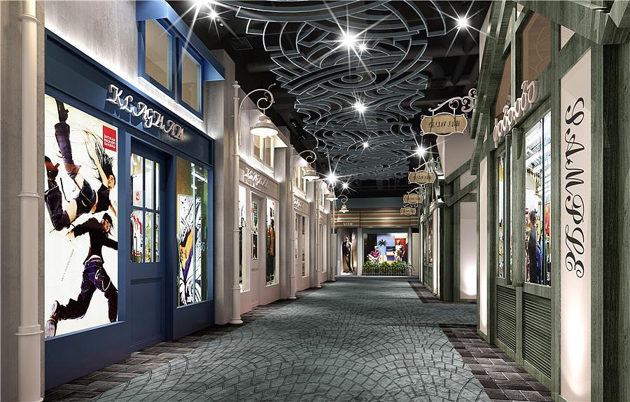 盘点国内a空间室内商业街设计空间|案例|室内设北京建工建筑设计研究院亮化中标图片