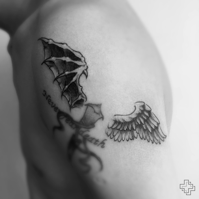 一组黑灰纹身|手工艺|其他手工|2nu7lg - 原创作品