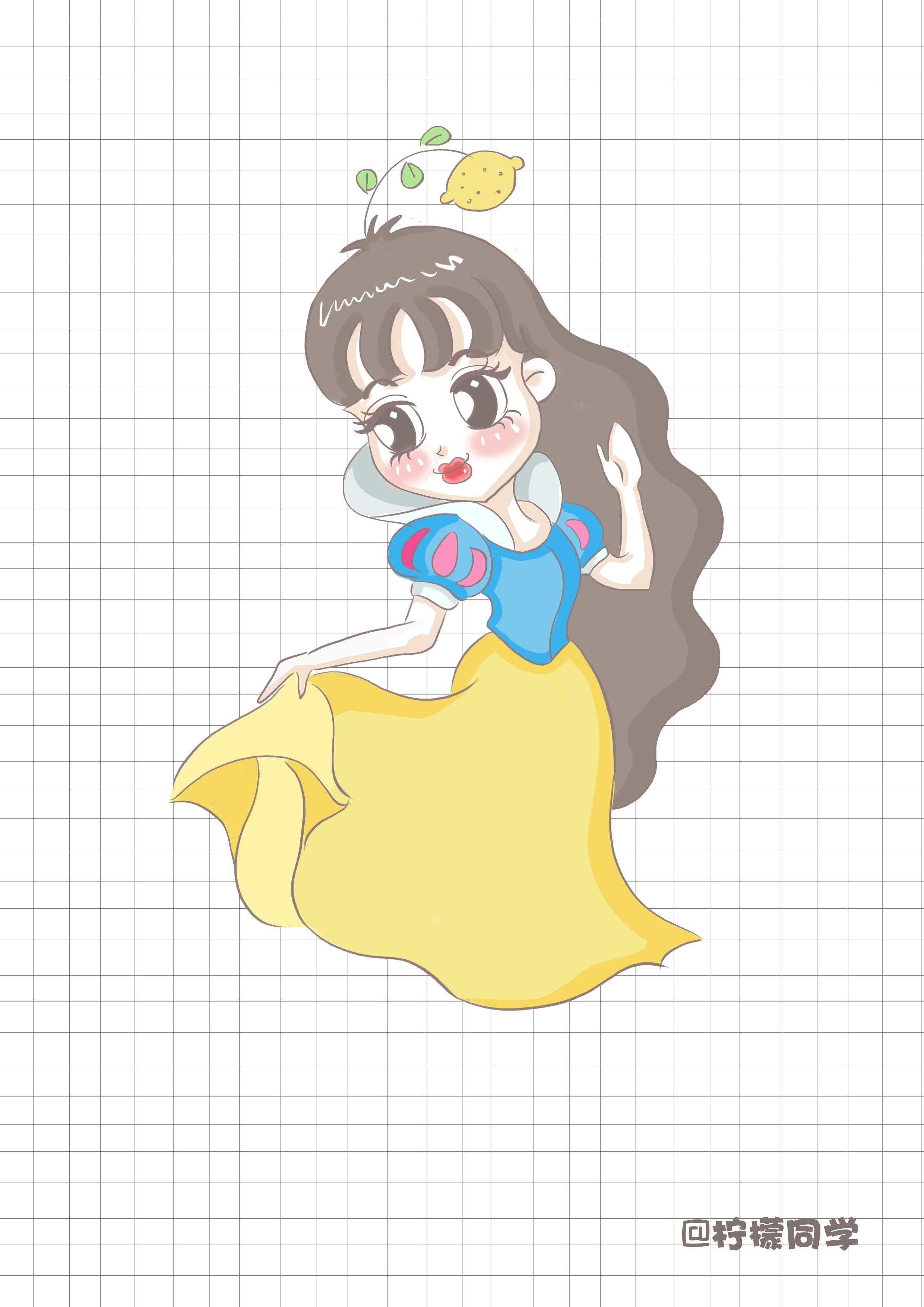可爱卡通公主形象