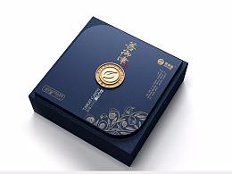 保健品礼盒包装设计