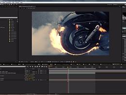 MOTO FIRE VFX