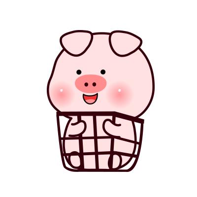 小笨猪头像 微信表情包小笨猪情侣头像
