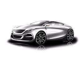sketch -car