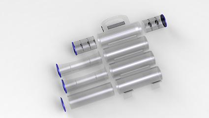 产品外观设计-老年人药箱设计