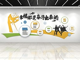 企业文化墙素材