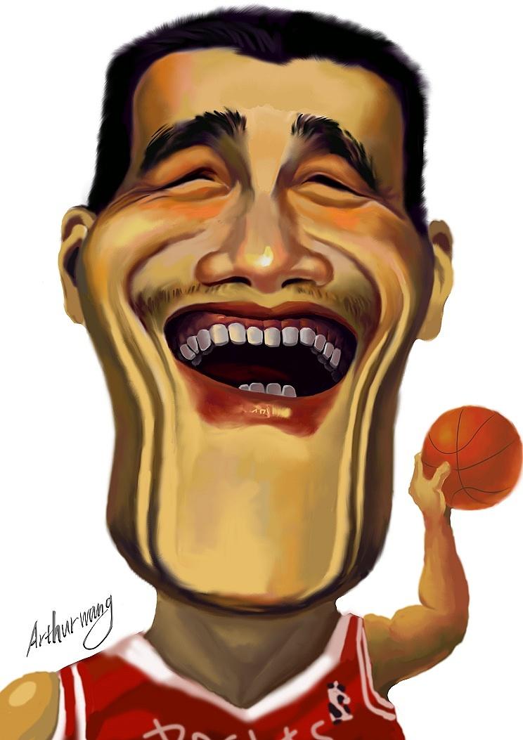 原创漫画,成龙插画像|漫画|动漫作者|阿瑟王-原英文肖像的漫画图片