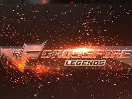 《穿越火线》海外版logo演绎