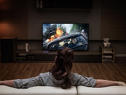 小米电视 大师65寸OLED平面拍摄