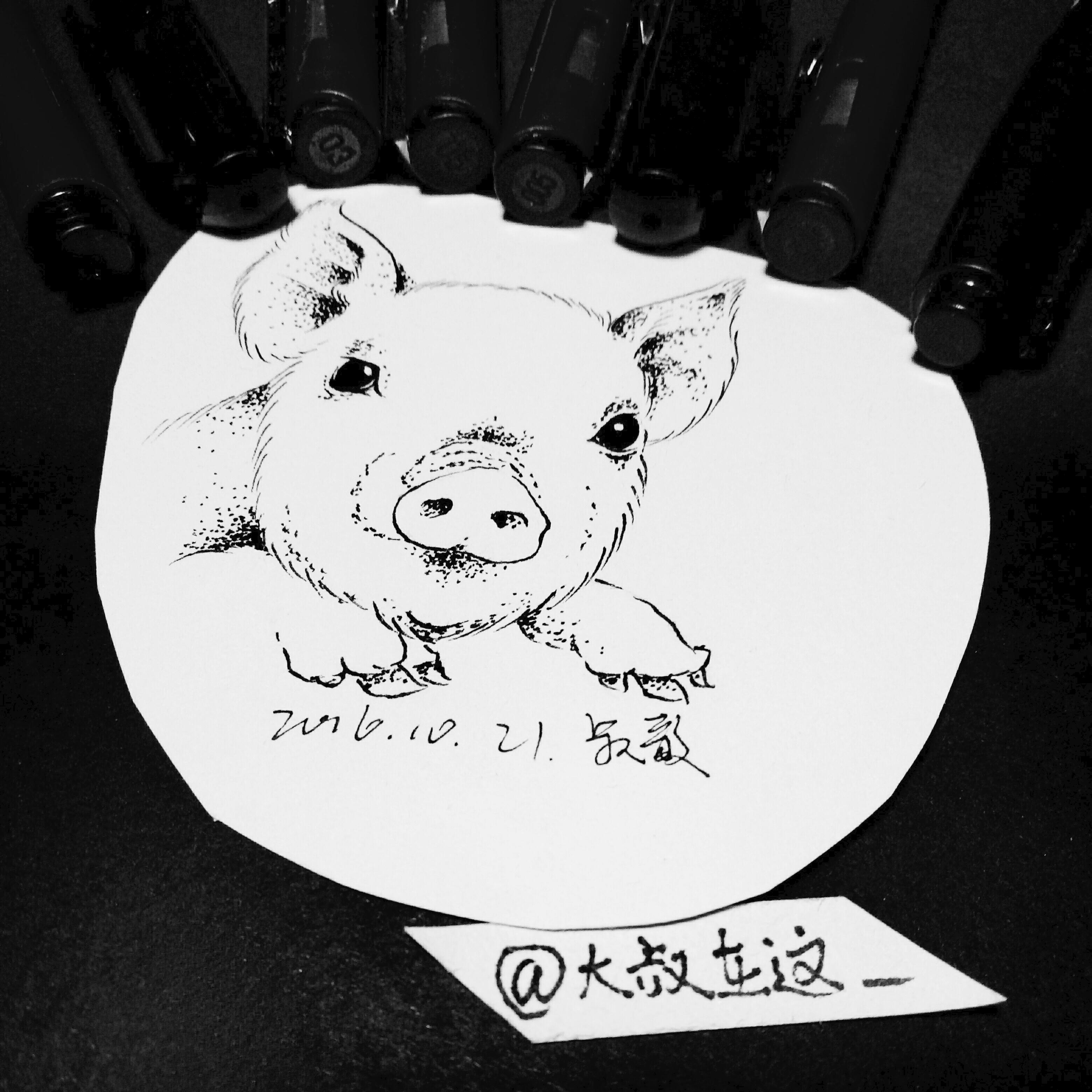 小清新纹身手稿