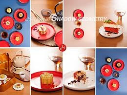成都美食拍摄茶点拍摄糕点甜点休闲食品拍摄摄影茶拍摄