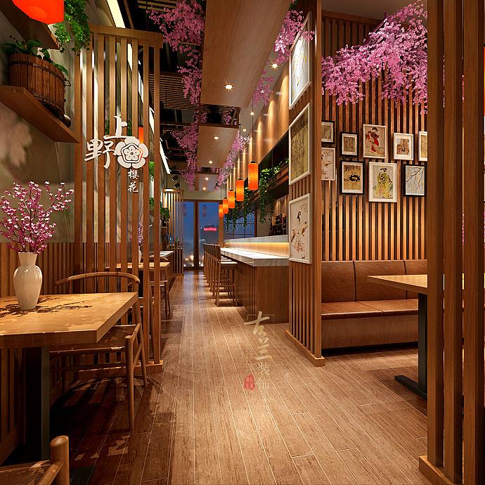 陇南甘肃餐厅特色装修设计平字纹身怎么设计图图片