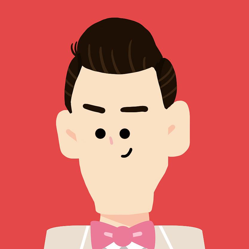 "h對�.9�#jˮ�ǖ""��p�_给一对新人设计的结婚形象 插画 商业插画 hxxooxx"