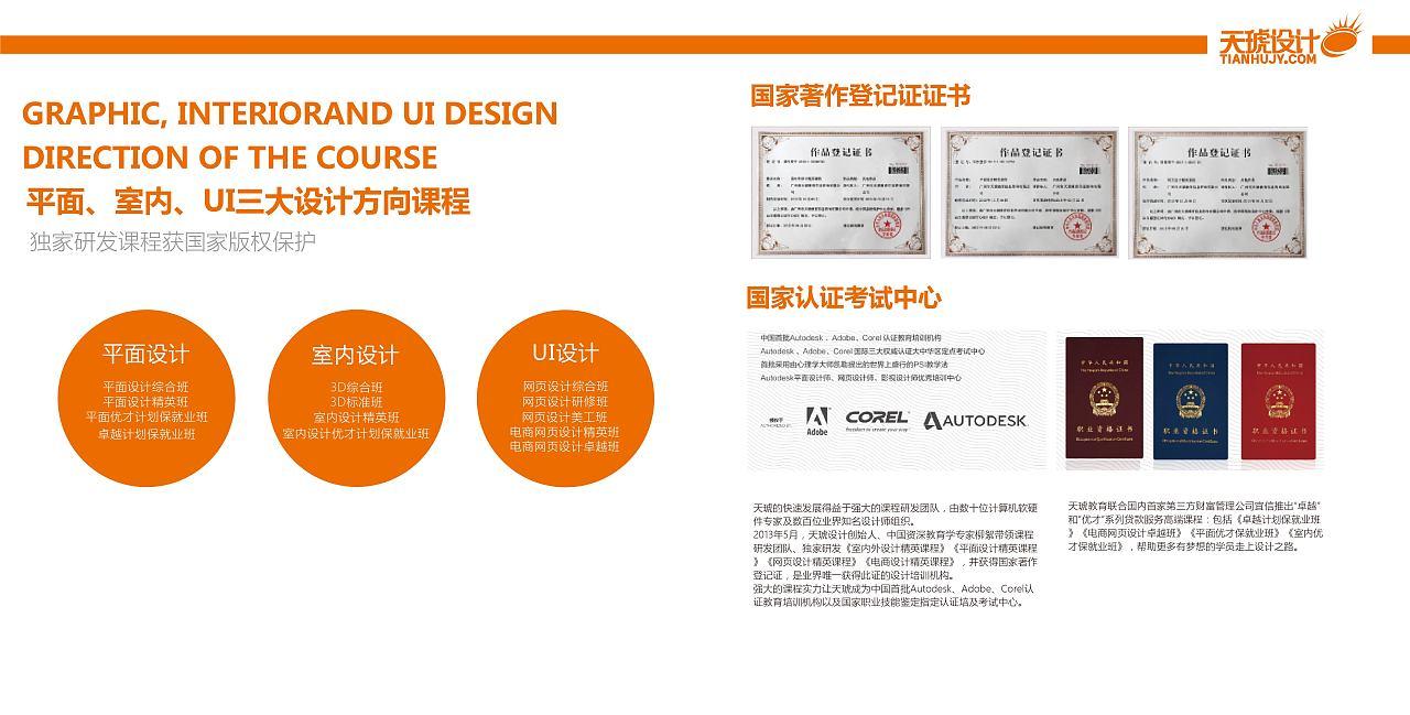 南昌天琥教育主页-平面设计_电商_PS_CAD培训