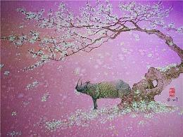 【縛海集—皇斑林犀】——翔魚