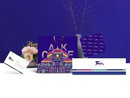 西点品牌形象设计  马卡龙品牌logo、vi设计