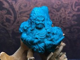 绿松石『不动明王』