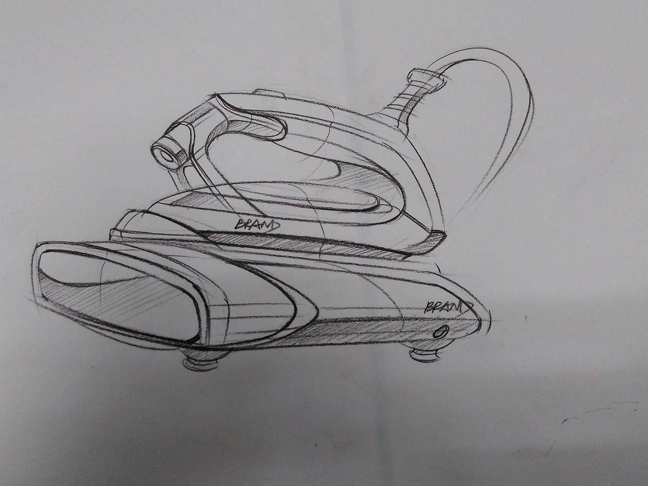 工业手绘素描/邦陈设计