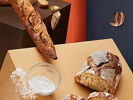 Pain Chaud × 有食间 烘焙甜品类创意海报拍摄附手稿