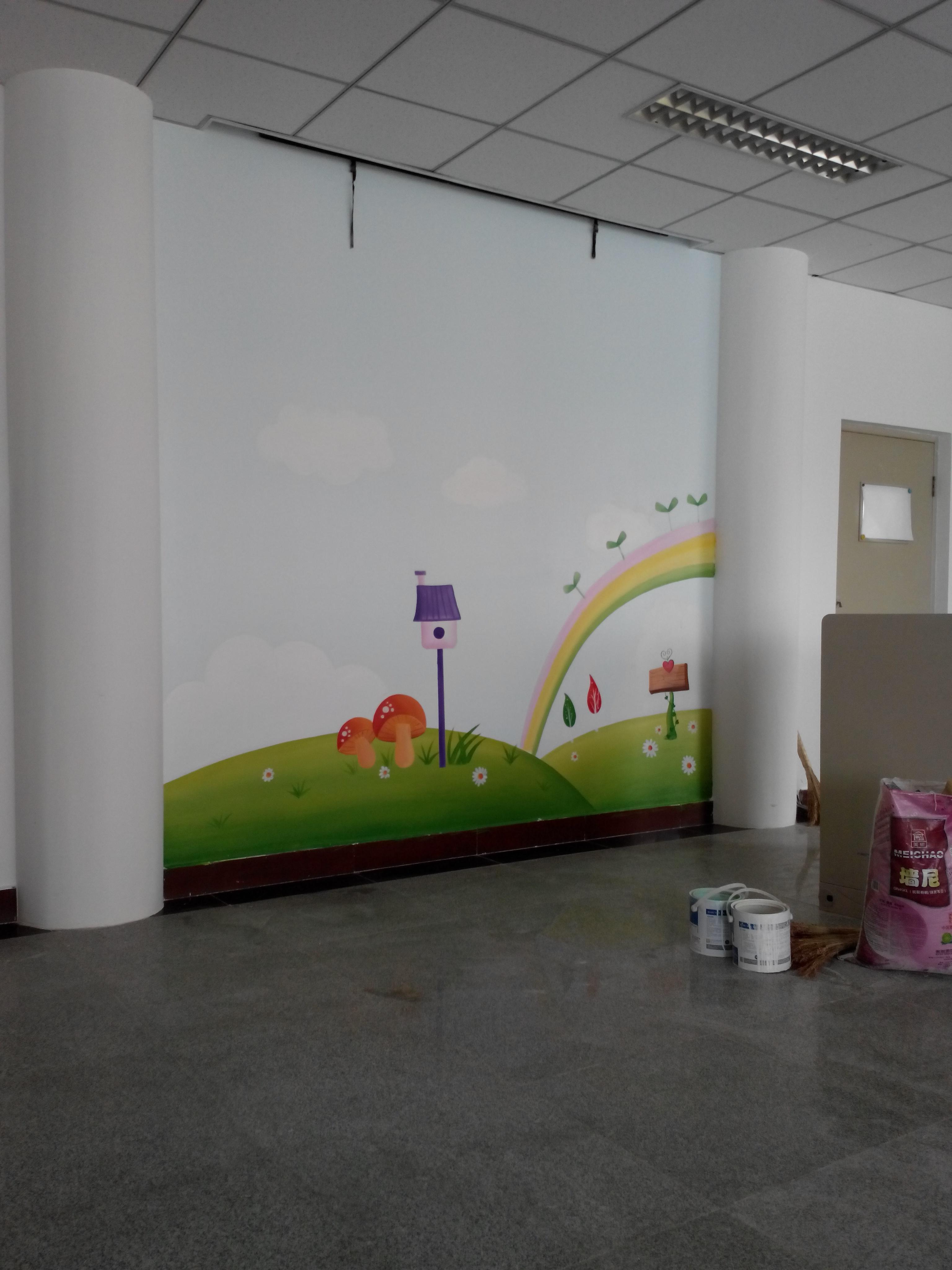 青岛绘美时尚装饰工程有限公司墙绘案例分享4