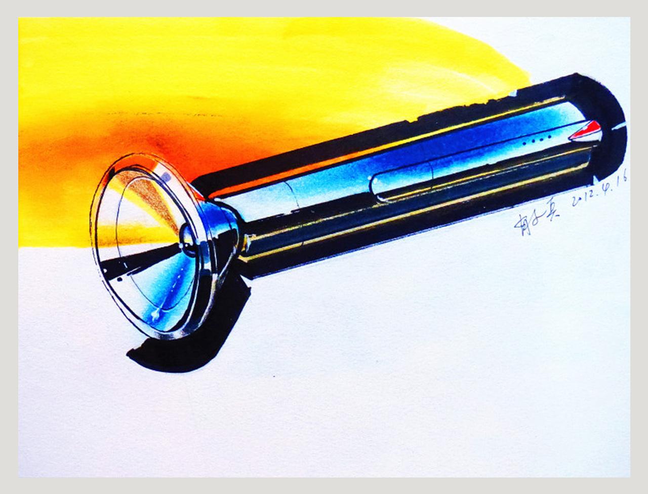 工业产品手绘练习|工业/产品|交通工具|幽渺旭生