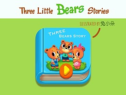 《Tree Little Bears Stories》绘本