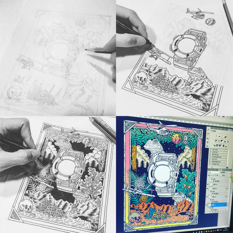 查看《G-SHOCK插画...》原图,原图尺寸:800x800