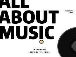 CD COVER DESIGN- all about music