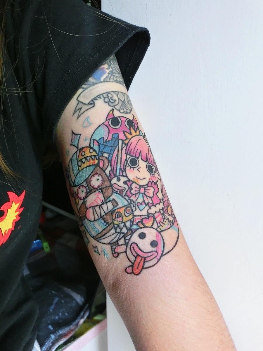 黑格肯恩 原创纹身幽灵公主