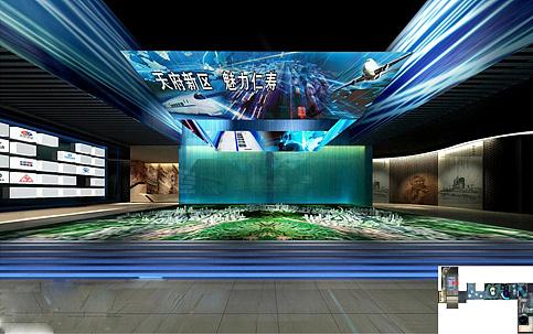 仁寿 天府新区规划展厅图片