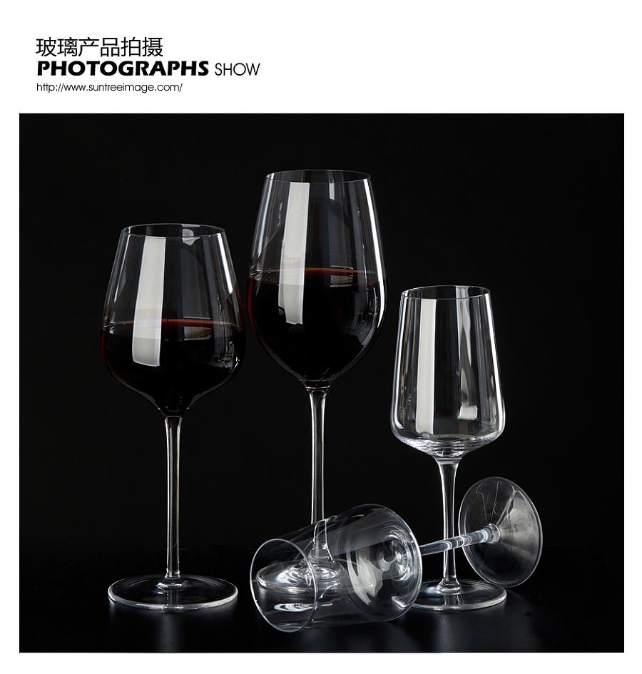 原创作品:玻璃酒杯拍摄图片