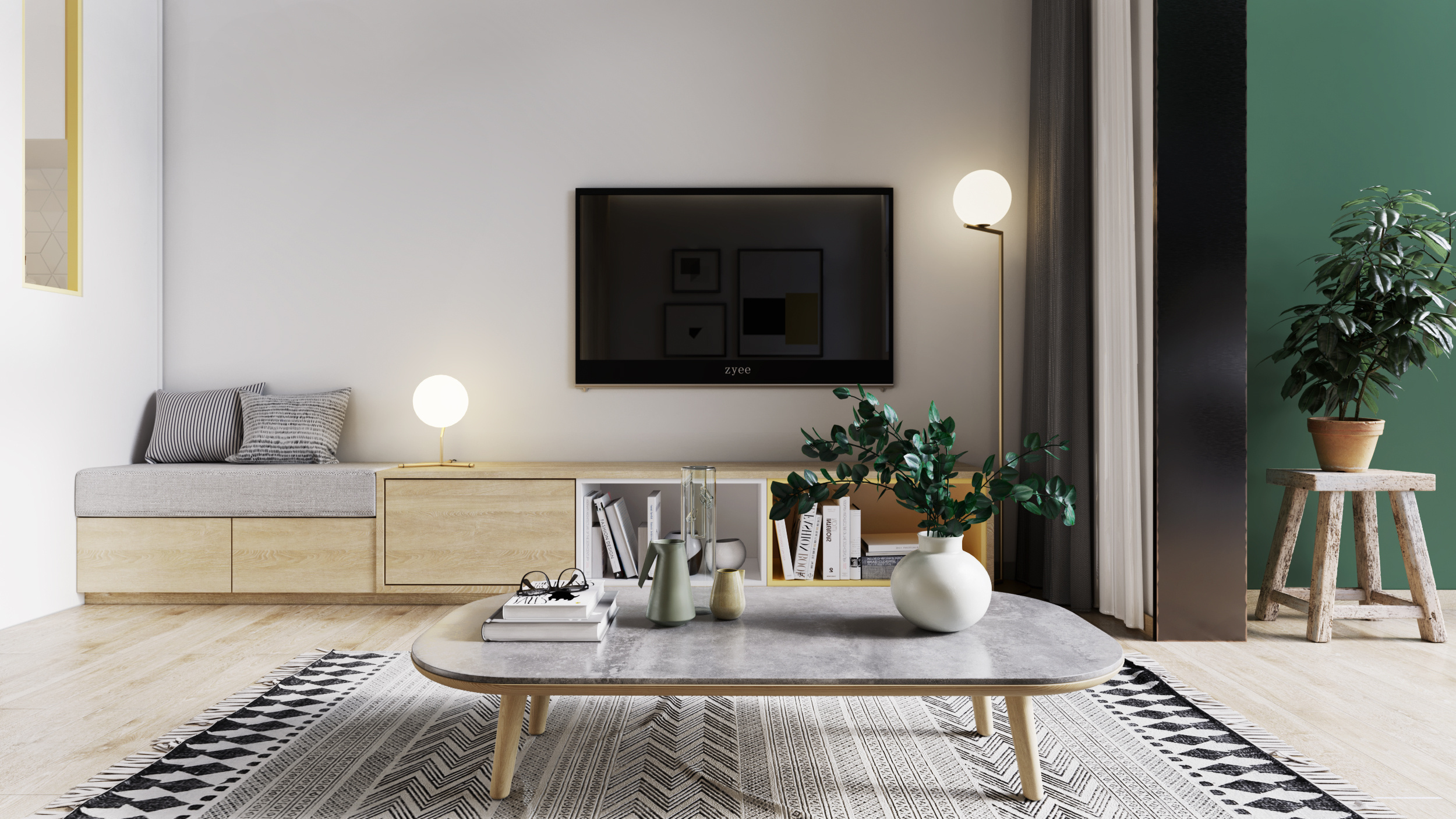 loft清新小住宅|空间|室内设计|zyee - 原创作品
