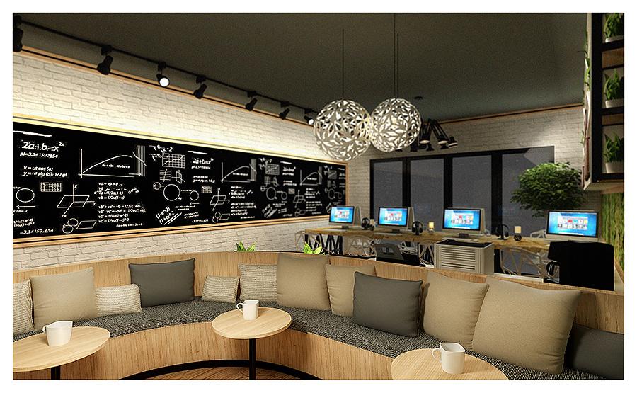 小型创业办公室设计