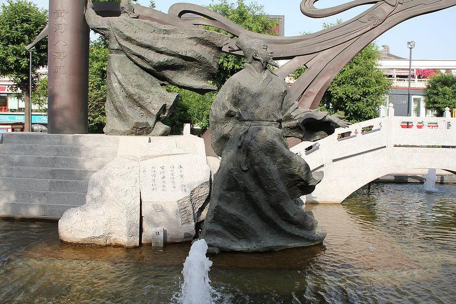 大雁塔广场的城市雕塑|摄影|风光|digger_deng - 原创
