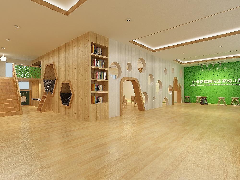 瑞吉欧教育理念原生态森林幼儿园整体规划设计图片