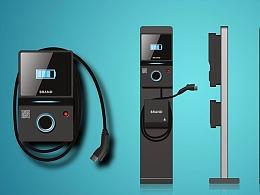 现代流行的新能源充电桩设计