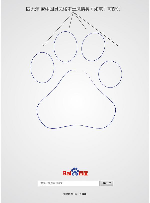正在参与:有创意更简单 - 百度bf创意海报设计大赛