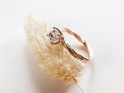 梵尼洛芙珠宝 | 洛可可女王系列求婚钻戒【织梦】