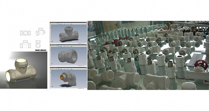 查看《南新管业钻石系列水管件开发设计 (诸暨工业设计产品开发)》原图,原图尺寸:700x371