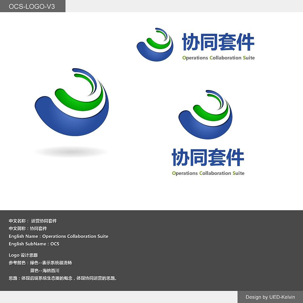 中文名称: 运营协同套件 中文简称:协同套件 English Name:Operations Collaboration Suite English SubName:OCS 思路:体现后端系统生态圈的概念,体现协同运营的思路。