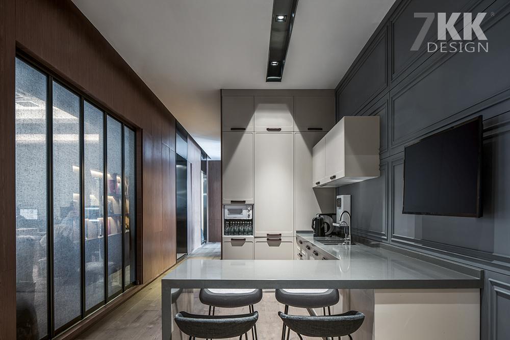 7kk design办公室展厅设计图片