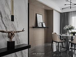 GHB空间设计丨 住宅实景 丨 時迁
