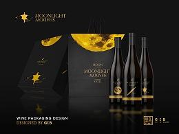葡萄酒产品设计《月潮》