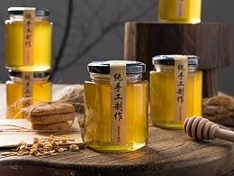农家蜂蜜拍摄
